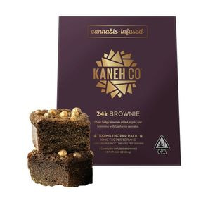 24 Karat Brownies - 100mg