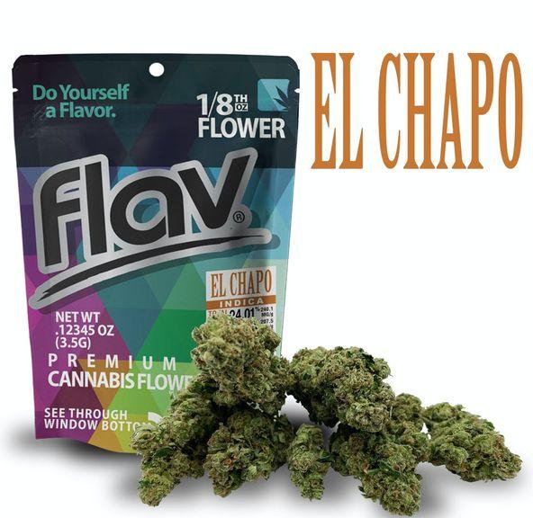 Flav - Flower - El Chapo - 1/8oz