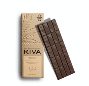 100mg Dark Chocolate Toffee Crunch - KIVA