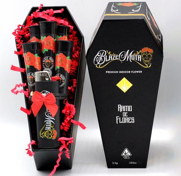 BLAZE MOTA - RAMO DE FLORES 5PK PREROLL COFFIN BOX - 29.22% TOTAL