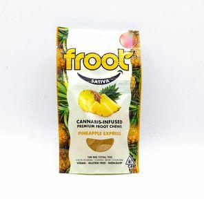 100mg Pineapple Express GUMMIES - FROOT