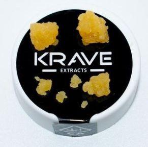 1g Lemon Lava Cake Flake - KRAVE