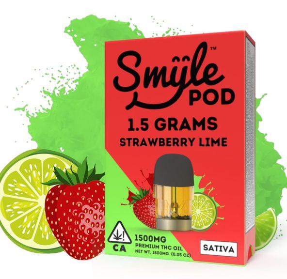 SMYLE POD - STRAWBERRY LIME 1.5 GRAM POD