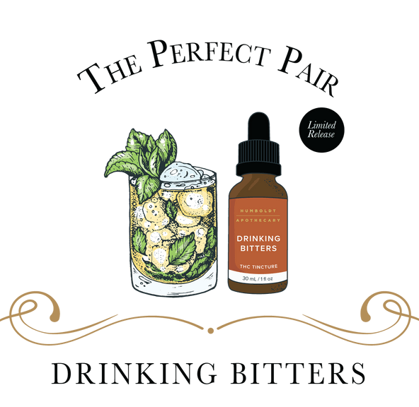 HUMBOLDT APOTHECARY- DRINKING BITTERS THC TINCTURE