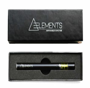 Elements Disposable - Platinum Kush