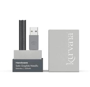 KURVANA - Satin Graphite Metallic Buttonless Battery 350mAh