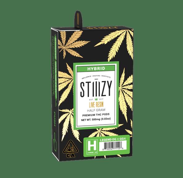 STIIIZY - .5G LLR POD - LEGEND OG X GG4
