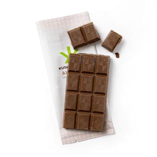 400mg Chocolate & Almond Bar by Kush Kitchen