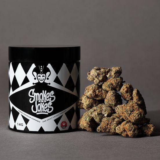 14g Smokes and Jokes - Lot #5438- Original Gangsta (HYB)