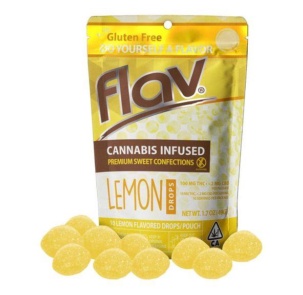 FLAV - Hard Candy - Lemon Drops 100MG