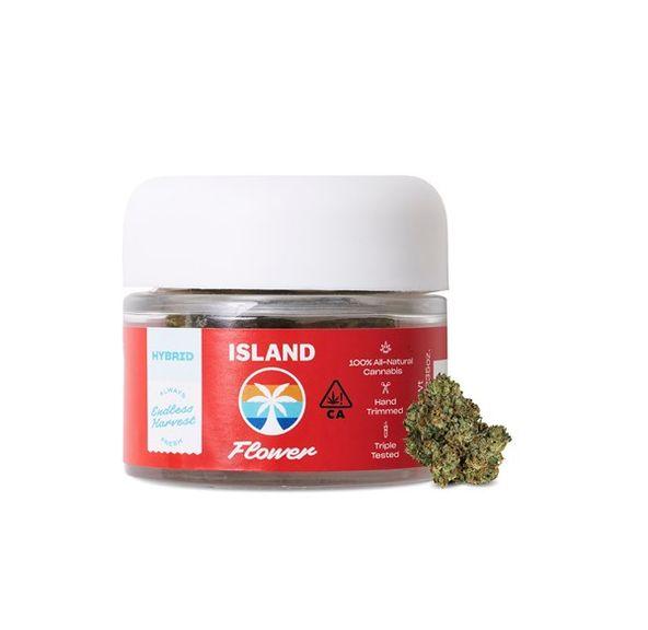 Island Flower - Strawberry Banana 24%