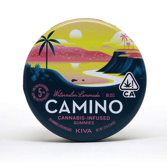 Camino Gummies 100mg Watermelon Lemonade
