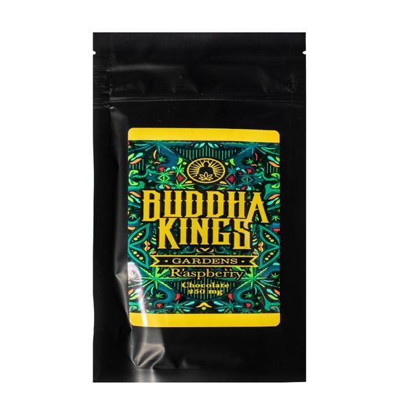 Buddha Kings Raspberry Chocolate Bar 250mg