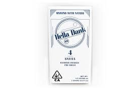 Hella Dank- The Bling x Silver Lotus Infused hash 4-Pack