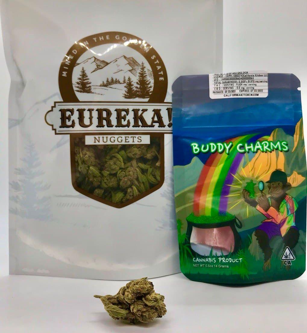 *Deal! $85 1 oz. White Buffalo (23.68%/Sativa) - Eureka + Buddy Charms*Disclaimer*