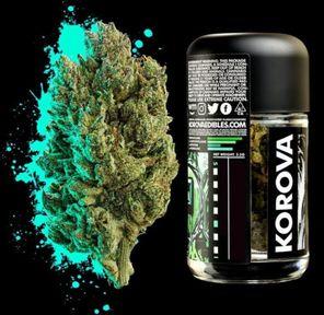 B. Korova 3.5g Flower - Quality 9.5/10 - Sorbet (~27% THC)