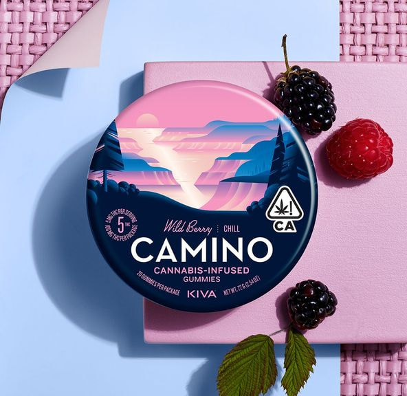 [Camino] THC Gummies - 100mg - Wild Berry (PROMO)