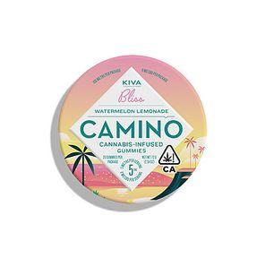 100mg Watermelon Lemonade CAMINO Gummies Tin - KIVA
