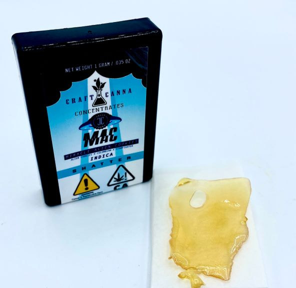 MAC MIRACLE ALIEN COOKIES1g NEW WAVE SHATTER INDICA