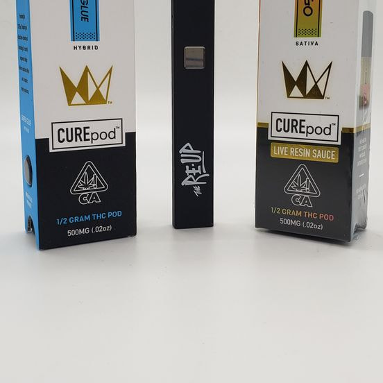 *Deal! $59 Mix n' Match (2) 0.5g CUREpods - West Coast Cure + Re-Up Pod Battery